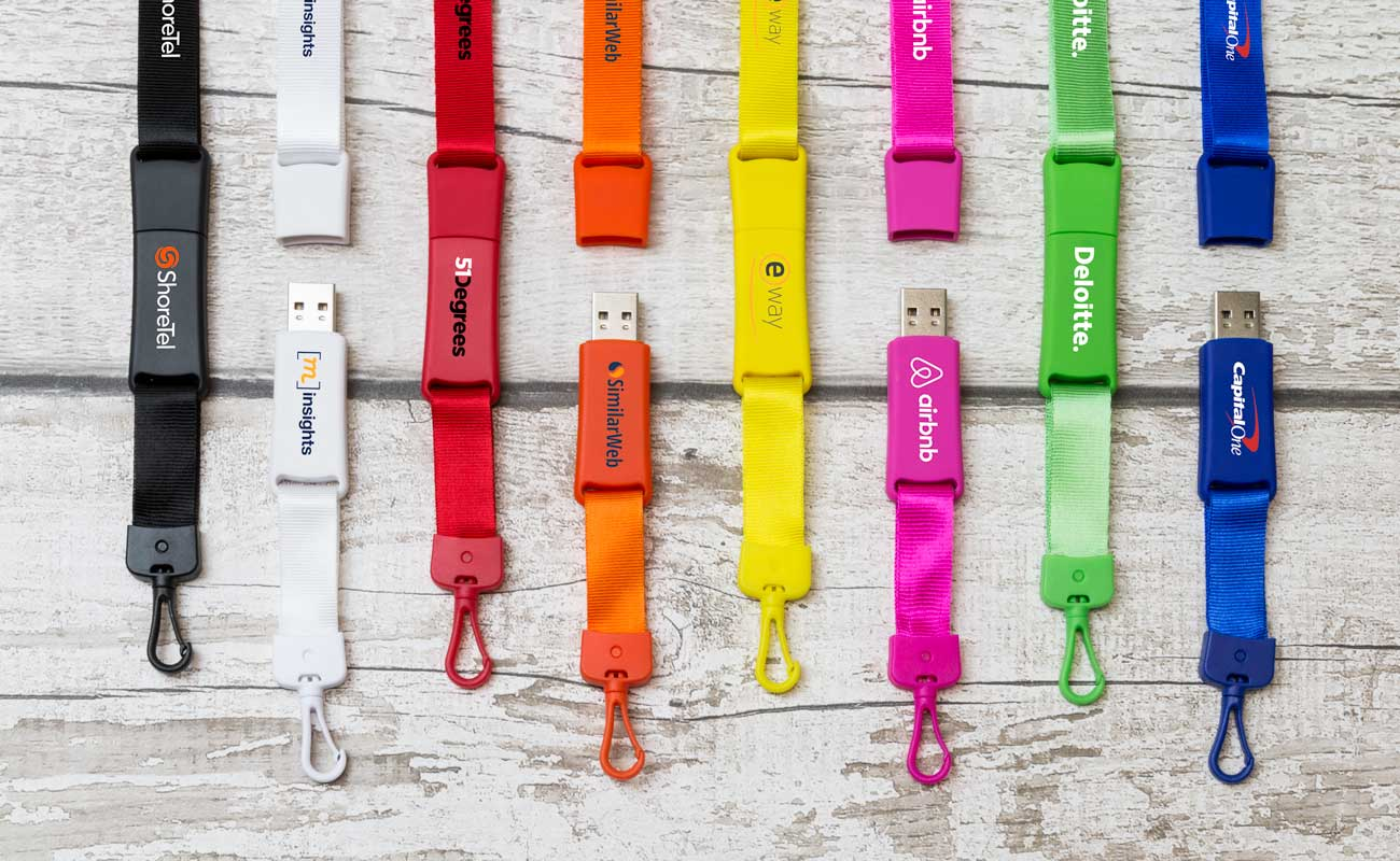 Event - Lanyard Flash Drive