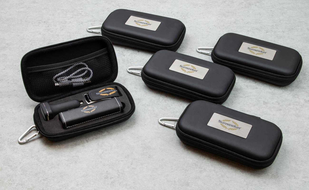 Leather M - Custom USB, Credit Card Power Bank and Promotional Car Charger